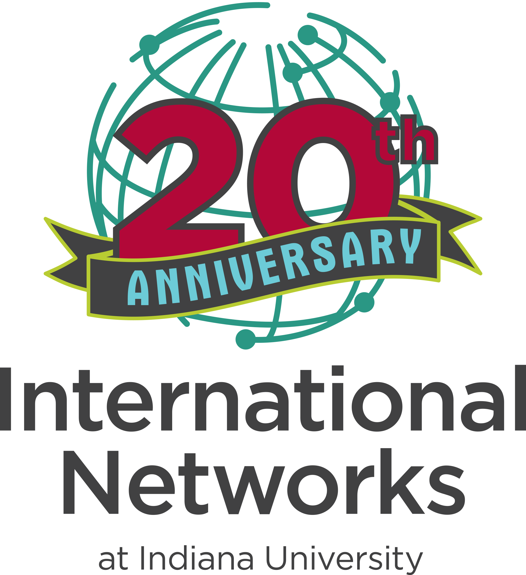 International Networks 20 years logo